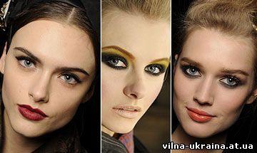 Модный макияж Лето 2010 : Dolce & Gabbana, Marc Jacobs, Zac Posen