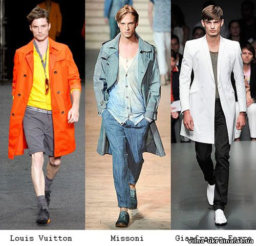 Мужская мода 2010 года - Тренчи.